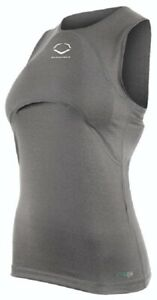 EvoShield WTV1144103049 Women Racerback Chest Guard Sleeveless Shirt Various
