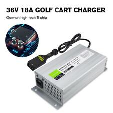 36 Volt Golf Cart Club Car Battery Charger Powerdrive 18A 3pin plug ezgo yamaha