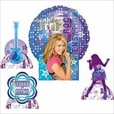 HANNAH MONTANA Rock the Stage BALLOON CENTERPIECE ~ Birthday Party Supplies Foil