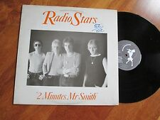 RADIO STARS 2 Minutes Mr Smith LP UK RARE NEW WAVE POWER POP NO CD