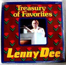 Lenny Dee Favorites & Melodies of Love 1985 Suffolk EASY LISTENING POP SS LP