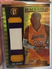 14/15 Gold Standard Kobe Bryant Jumbo 3 Color Prime Patch #5/7 Black Mamba Sick
