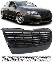 FRONT BLACK GRILL FOR VW PASSAT 3C B6 05-08 NO EMBLEM SPOILER BODY KIT NEW