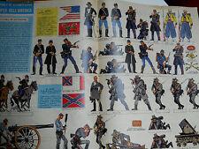 corriere dei piccoli anni '60 soldatini guerra di secessione disegni  HUGO PRATT