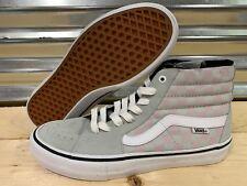 1f0eaf87f9 Vans SK8 Hi Pro Checkerboard Skate Shoes Smoke Gray Violet SZ 9 (  VN000VHGUHT )