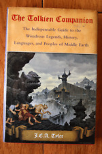 The Tolkien Companion by J.E.A. Tyler (2000) Gramercy Books Hc/Dj Nice/Vf! Lotr
