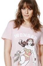 Ladies DC Comics Wonder Woman Superhero Pyjamas/pj's/sleepwear Gift Set Size 6