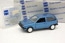 Conrad 1/43 - VW Polo Bleue