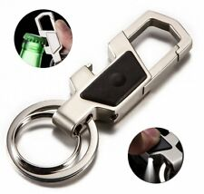 Bottle Opener Key Chain with Led Light 2 Zinc Alloy Key Rings for Men and Women