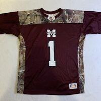 Mississippi State Bulldogs Football Jersey Realtree Camo Youth Size Medium