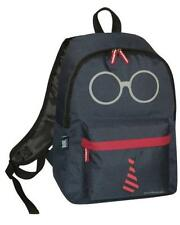 DAVID AND GOLIATH - GLASSES/TIE SCHOOL BACKPACK - NAVY BLUE