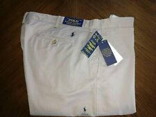 NWT Polo Ralph Lauren Pants Gray Stretch Straight Fit 38W 34L Pony $98.50