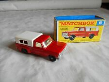 Matchbox Lesney No 6 Ford Pick up truck boxed