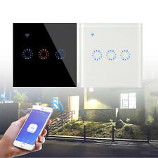 Home WiFi Smart Light Switch Touch Wireless Remote Control For Google Alexa