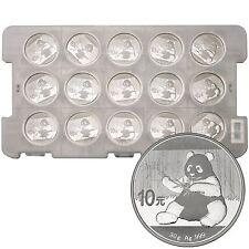 2017 China Silver Panda 30g BU (15pc)