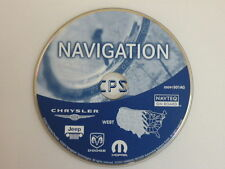 CHRYSLER DODGE JEEP NAVIGATION MAP DISC CD WEST RB4 05091501AG