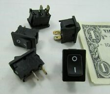 Lot 5 Marquardt On/Off Rocker Switches 15A 125VAC 250VAC Snap-In Panel Mount USA