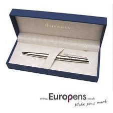 Waterman Hemisphere Steel & Chrome Ballpoint Pen Personalised ENGRAVED Gift