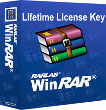 WinRar 5.60 Latest Version LIFETIME KEY with YOUR NAME - Fast Digital Download