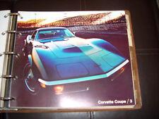 1971 Corvette, Camaro SS, Chevelle SS Factory GM Original Dealer Sales Album HTF