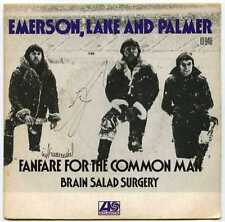 "french 45t (7"") SP EMERSON, LAKE & PALMER : Fanfare for the common man"