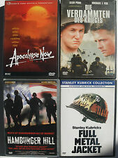 Vietnamkrieg Sammlung  Apocalypse Now Redux + Full Metal Jacket + Hamburger Hill