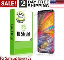 For Samsung Galaxy S9 Anti Yellow Screen Protector Film 2 PACK Case Friendly