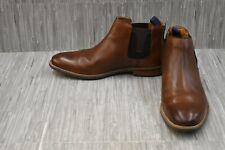 Florsheim Uptown 15168 Leather Chukka Boots, Men's Size 10EEE, Brown DAMAGED