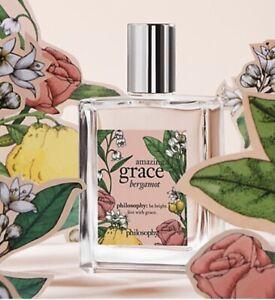 """PHILOSOPHY--Limited Edition Amazing Grace Bergamot Eau de Toilette -""""120ml"""" -NEW"""