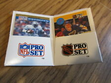 Barry Sanders (ROY) & Brett Hull 1990 Pro Set Dealers Sample Promo Pack Rare!