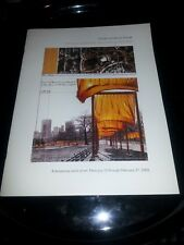 Christo The Gates NYC 2005 Program