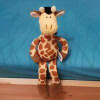 Nici Giraffe ca. 30 cm groß, liegend / sitzen, Plüschtier Kuscheltier, Neuwertig