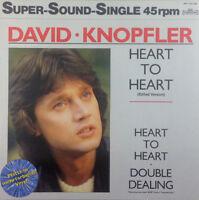 "David Knopfler - Heart To Heart - 12"" Maxi - K1062 - multicolored Vinyl"