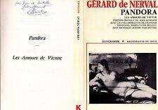 """1975 - SENELIER - GÉRARD DE NERVAL """"PANDORA"""" - E.O. SIGNÉE"""