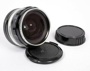 Nikon Nikkor H 28mm F3.5 lens NON AI
