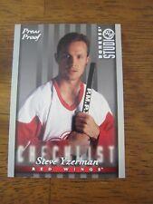1997 98 Donruss Studio Press Proof #106 Steve Yzerman - Red Wings Checklist HTF!