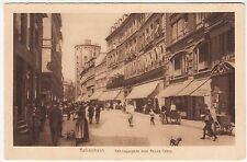 DENMARK - København - Købmagergade med Rundetårn - c1920s era  postcard