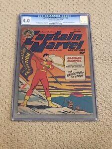 Captain Marvel Adventures 103 CGC 4.0 (Shazam from 1949!!)