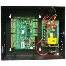 2 Door TCP/IP RFID IC Access Control Board AC 110 - 240 Metal Case Free Manual