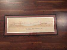 The Golden Gate Bridge - Joseph B. Strauss Architecture Drawing