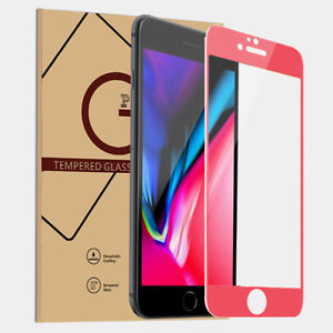 Full Coverage Tempered Glass Screen Protector Film for iPhone SE 2020 7 8 plus