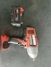 """Milwaukee 1/2"""" Impact Wrench And 3.0ah Battery"""