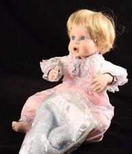 "Danbury Mint ""CUDDLY KIDS COLLECTION"" ALLISON 9"" Porcelain by Elke Hutchens"