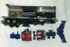 Lot Vintage G1 Transformers Optimus Prime Trailer Parts Takara Japan & more