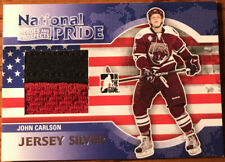 2010-11 ITG Heroes & Prospects National Pride Jerseys SILVER John Carlson