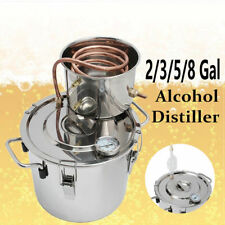 2/3/5/8 Gal Alcohol Water Distiller Still Spirits Boiler Moonshine Wine Ethanol