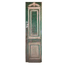 Reclaimed 28� Door with Carved Details, Ned1104B