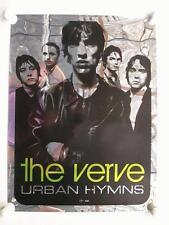 THE VERVE URBAN HYMNS 1998 FOIL PROMO POSTER ORIGINAL