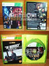 L.A. Noire Xbox 360 Game 3-Discs