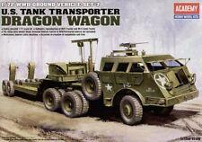 Academy 1/72 WWII Ground Vehicle Set-7 U.S. Tank Transporter Dragon Wagon # 1340
